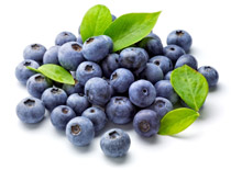 Blueberries, an anti-inflammatory superfood.